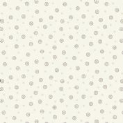Lewis & Irene - Winter Garden - 6207 - Scattered Seeds on Off White - A320.1 - Cotton Fabric